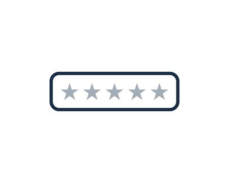Illustration pour Testimonial Icon Logo Design Element - image libre de droit