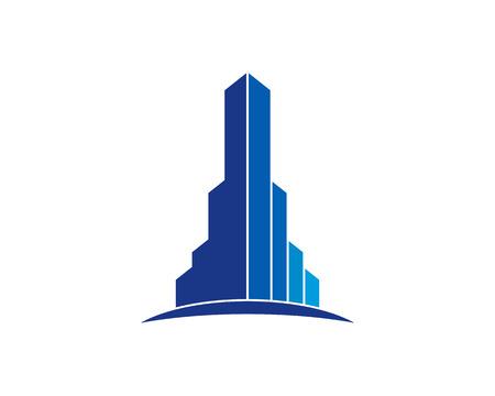 Illustration for Real Estate Icon Logo Design Element - Royalty Free Image