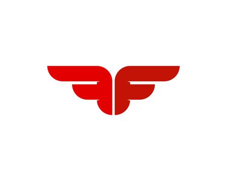 Ilustración de Letter F Icon Logo Design Element - Imagen libre de derechos