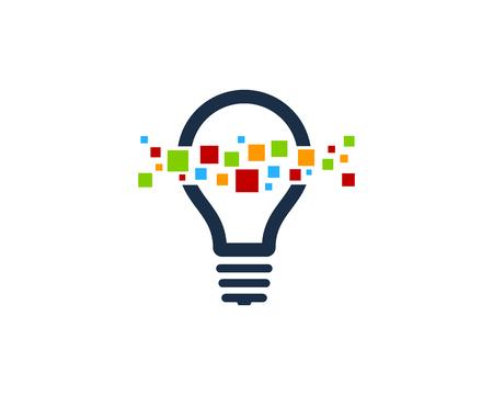 Illustration pour Creative Idea Icon Logo Design Element - image libre de droit