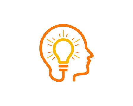 Ilustración de Creative Idea Icon Design Element - Imagen libre de derechos