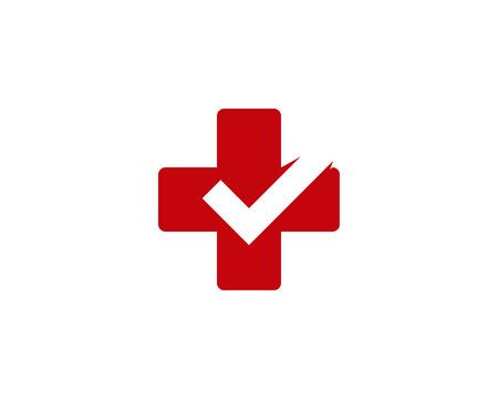 Illustration pour Medical Icon Logo Design Element - image libre de droit