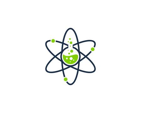 Illustration pour Science Lab Icon Design Element - image libre de droit