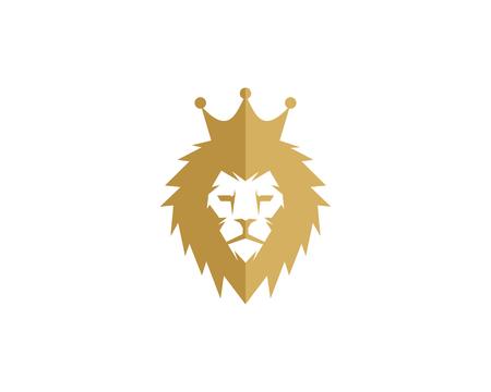 Ilustración de King icon logo design element - Imagen libre de derechos