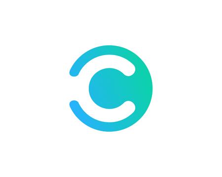 Illustration pour Letter C Icon Logo Design Element - image libre de droit