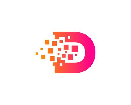 Illustration pour Letter D Icon Design Element - image libre de droit