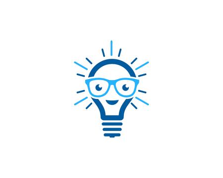 Ilustración de Creative Idea Icon Logo Design Element - Imagen libre de derechos