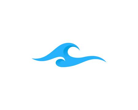 Ilustración de Wave Icon Design Element - Imagen libre de derechos