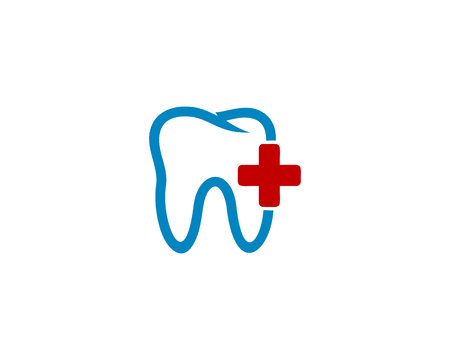 Illustration pour Medic Dental Icon Logo Design Element - image libre de droit