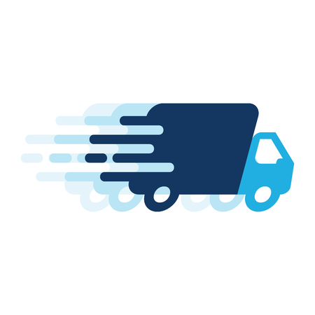 Photo for Delivery Logo Icon Design - Royalty Free Image