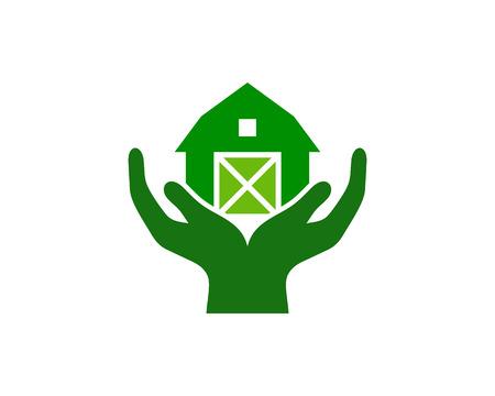 Illustration for Care Logo Icon Design - Royalty Free Image