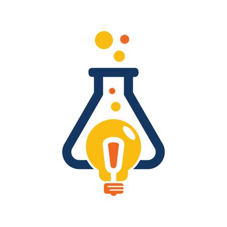 Ilustración de Research Idea Logo Icon Design - Imagen libre de derechos