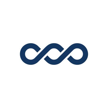 Ilustración de Infinity Logo Icon Design - Imagen libre de derechos