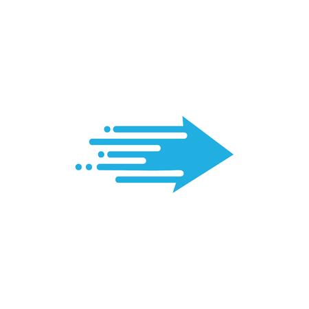 Ilustración de Arrow Speed Icon Design - Imagen libre de derechos