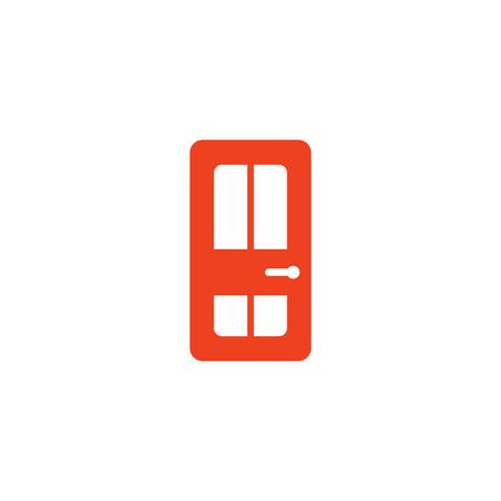 Illustration for Door Logo Icon Design - Royalty Free Image