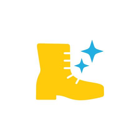 Ilustración de Shoes Logo Icon Design - Imagen libre de derechos