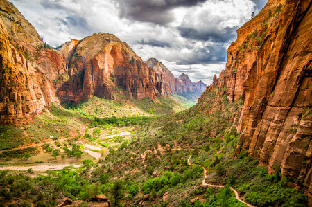 Photo for colorful landscape from zion national park utah - Royalty Free Image