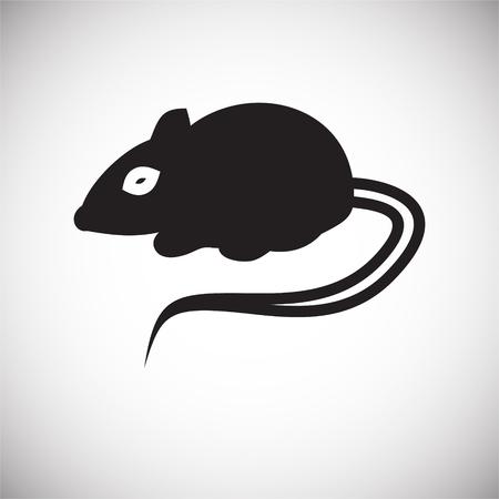 Foto für Rat icon on white background for graphic and web design, Modern simple vector sign. Internet concept. Trendy symbol for website design web button or mobile app - Lizenzfreies Bild