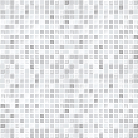 Illustration for Pattern from gray tiles - seamless vector background - Royalty Free Image