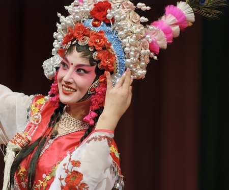 Photo for pretty chinese opera actress - Royalty Free Image