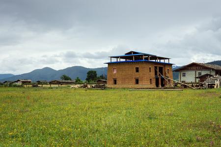 Foto de Tibetan folk house - Imagen libre de derechos