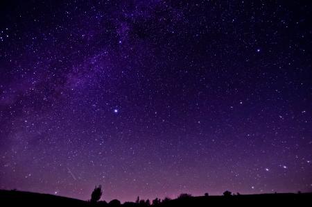 Photo pour Milky Way and Sars night sky background - image libre de droit
