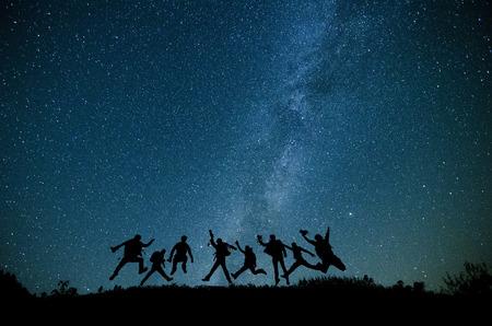 Foto de The summer Milky Way - Imagen libre de derechos