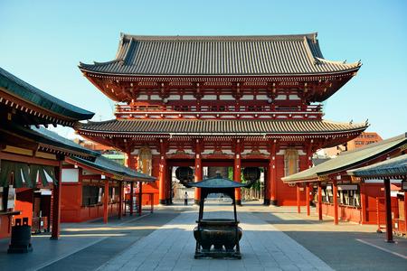 Photo pour Sensoji Temple in Tokyo Japan. - image libre de droit