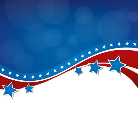 Illustration for Stars and Stripes - Royalty Free Image
