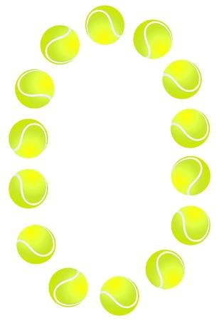 Tennis Ball Number 0