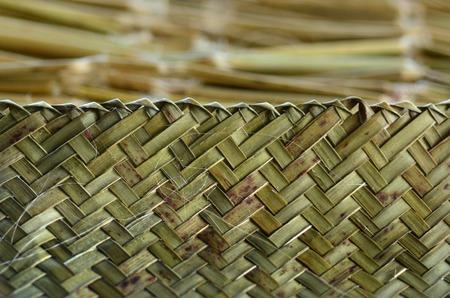 Foto de Maori weaving artwork background texture. - Imagen libre de derechos