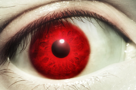 Photo for Red Blood Eye - Royalty Free Image