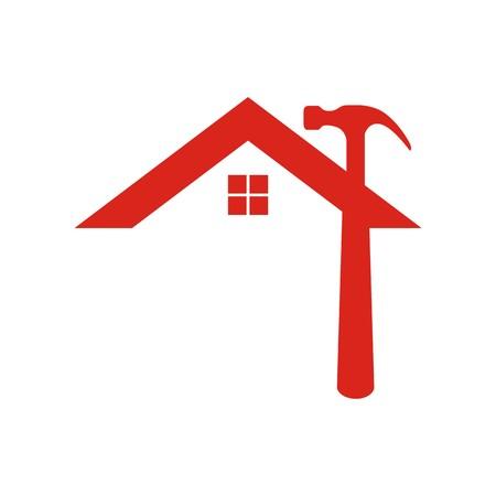 Photo pour Home logo vector - image libre de droit