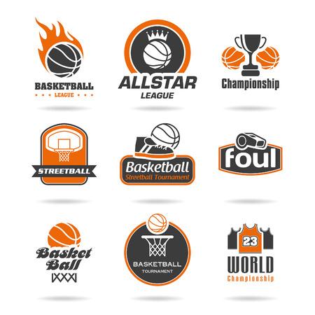 Basketball icon set - 3