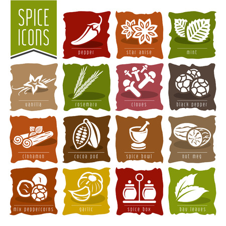 Spice icon set - 2