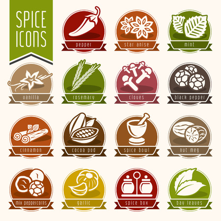 Spice icon set