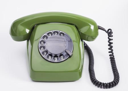 Photo pour Green phone - image libre de droit