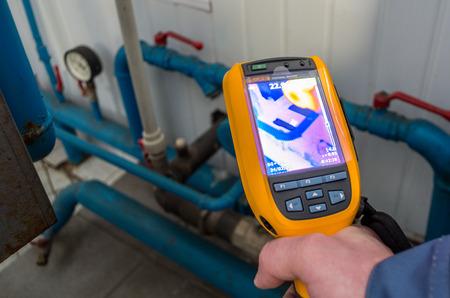 Photo pour Thermal imaging inspection camera - image libre de droit