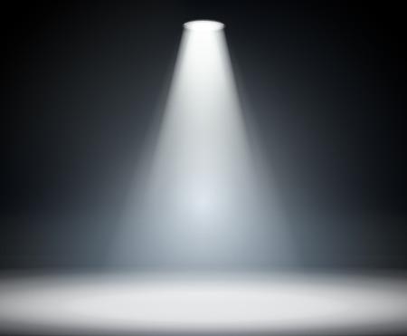 Illustration pour Illumination from above - image libre de droit