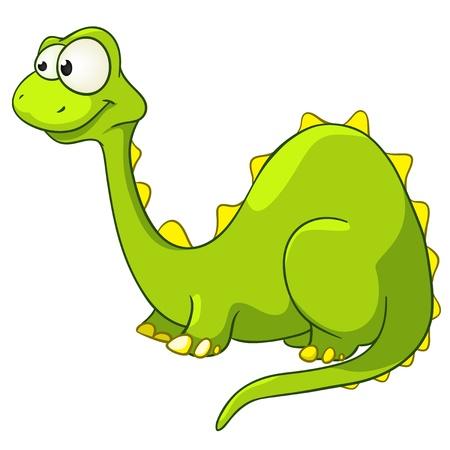 Photo pour Cartoon Character Dino - image libre de droit