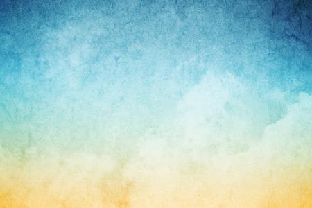 Foto de cloudscape with grunge texture abstract background - Imagen libre de derechos