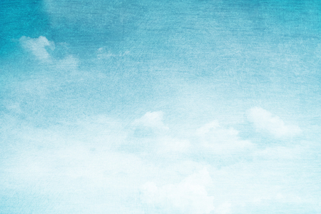 Foto de fantastic soft cloud and sky abstract background with grunge  texture - Imagen libre de derechos
