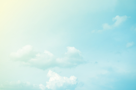 Photo pour cloud and sky abstract background with pastel gradient color - image libre de droit