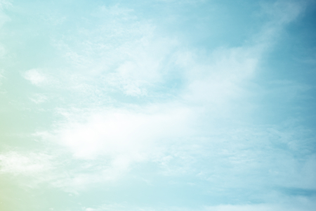 Foto de fantastic soft cloud and sky abstract background with pastel gradient color - Imagen libre de derechos