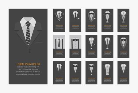 Illustration pour Business cards  - image libre de droit