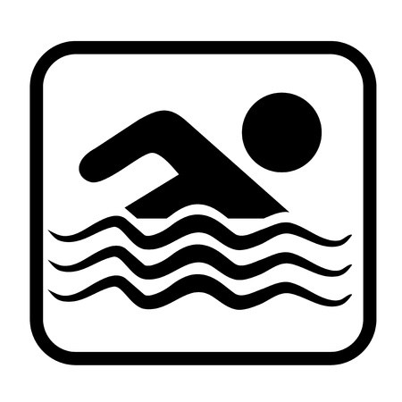 Swimming sign