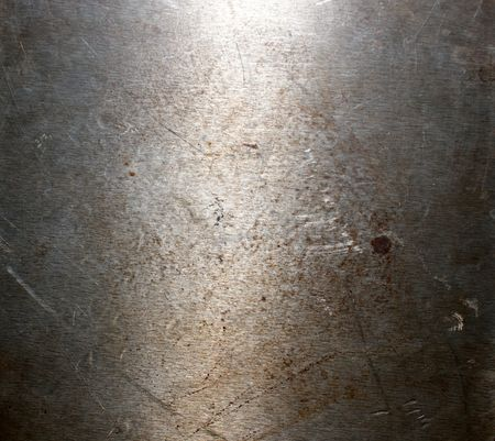 Photo of a metal surface close up