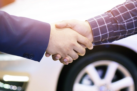 Photo for Good deal. Close-up of handshaking. Smooth business - Royalty Free Image
