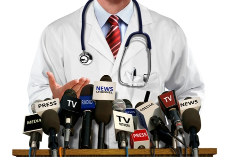 Photo for Doctor Press and Media Conference - Royalty Free Image