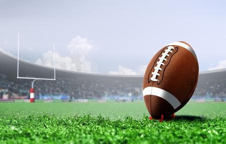 Foto de American football penalty kick - Imagen libre de derechos